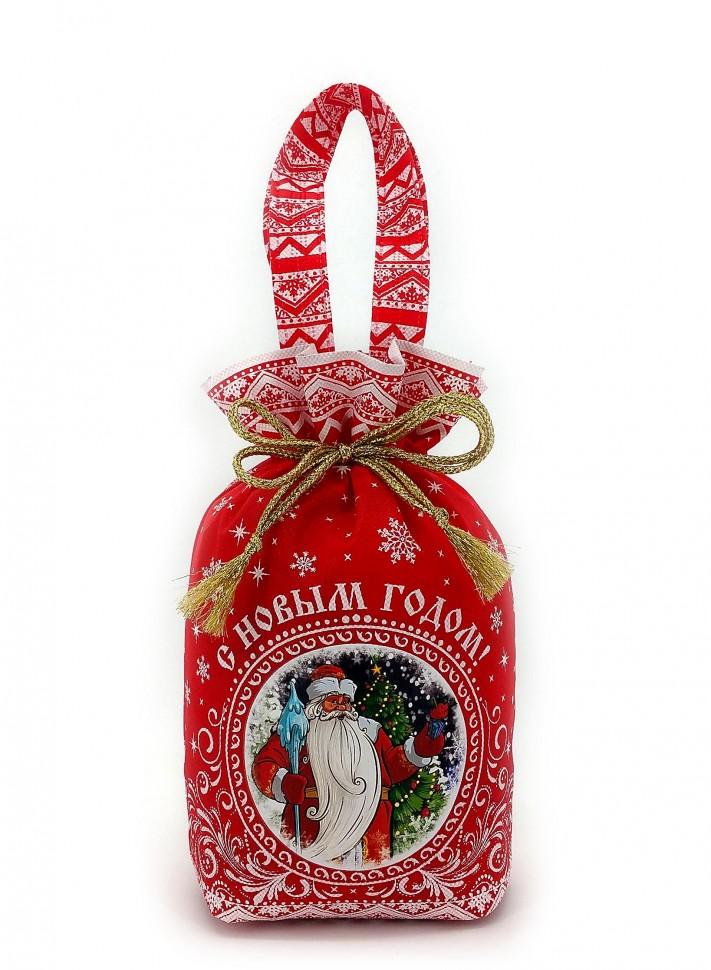 Упаковки на новый год в текстиле